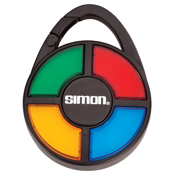 Handheld Simon Game - View 2