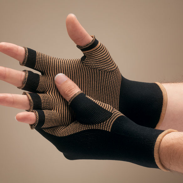 Copper Compression Gloves - View 2