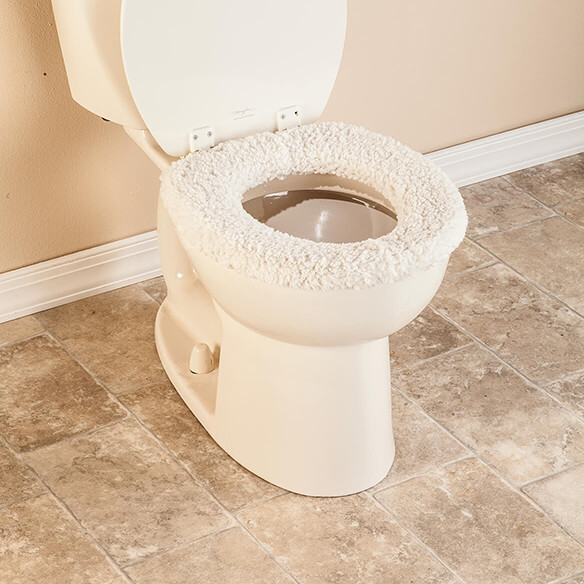Sherpa Toilet Seat Cover by OakRidge™ - View 5