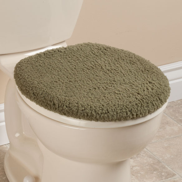Sherpa Toilet Seat Lid  Cover by OakRidge™ Comforts - View 4