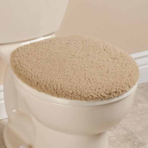 Sherpa Toilet Seat Lid  Cover by OakRidge™ Comforts - View 5