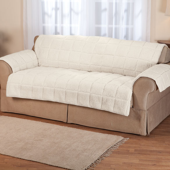 Waterproof Quilted Sherpa Loveseat Protector by OakRidge™ - View 2