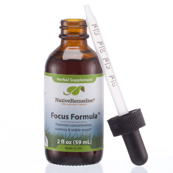 NativeRemedies® Focus Formula™ - 2 oz. - View 3