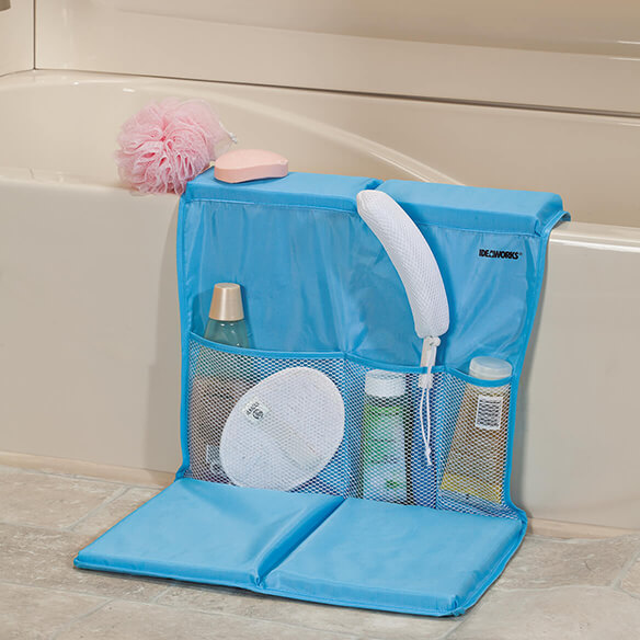Bathtub Caddy with Kneeling Pad - View 2