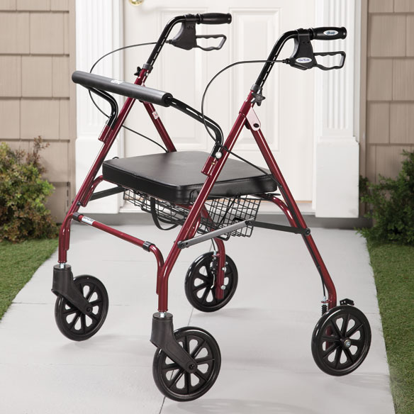 Go-Lite Bariatric Steel Rollator - View 3