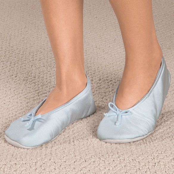 Satin Ballet Slippers Satin Slippers Womens Slippers