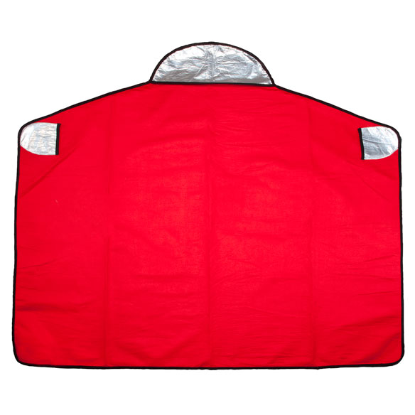 Hooded Emergency Blanket by LivingSURE™ - View 4