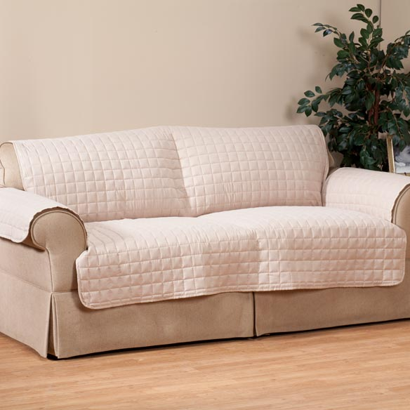 Microfiber Extra-Large Sofa Protector by OakRidge™ Comforts - View 3