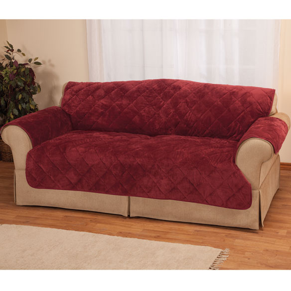 Fine Velvet Sofa Protector by OakRidge™ - View 2
