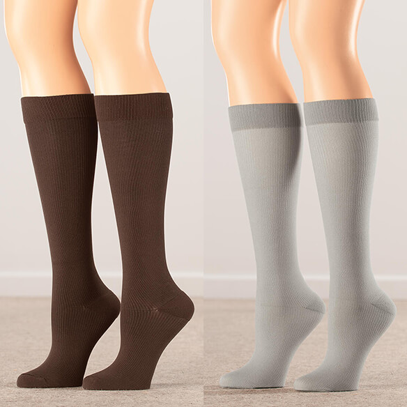 Silver Steps™ Compression Socks 8–15 mmHg - View 3