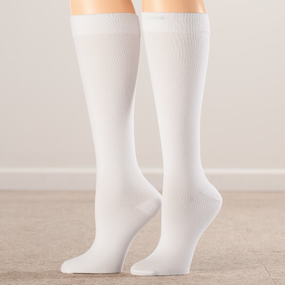 Silver Steps™ Compression Socks 15-20 mmHg - View 2