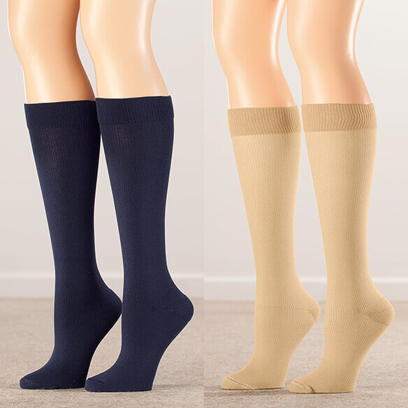 Healthy Steps™ Compression Socks 15-20 mmHg - View 4