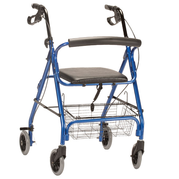 Aluminum Lite 4-Wheel Rollator - View 3