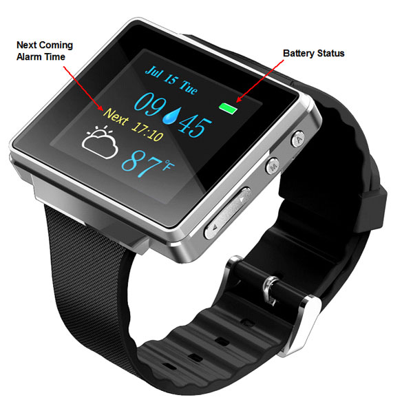 Smart Alert Watch - View 2
