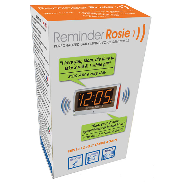 Reminder Rosie Interactive Clock - View 3