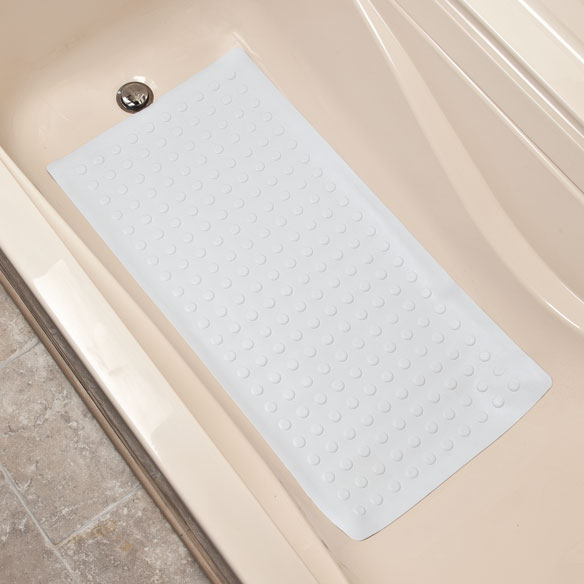 Rubber Safety Mat With Microban Shower Mat Easy Comforts