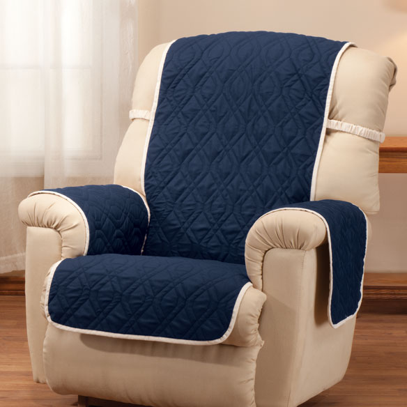 ... Deluxe Reversible Waterproof Recliner Chair Cover - View 4 ... 23ea710e979a