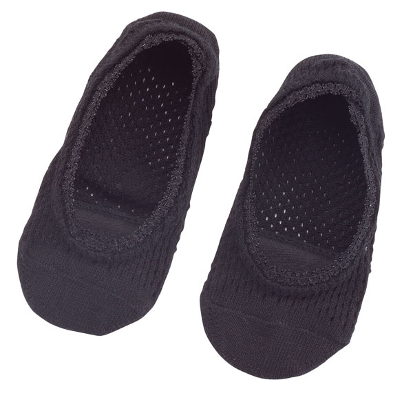 Lace Trim Cushioned Foot Liner, 1 Pair - View 3