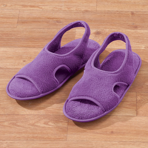 Terry Memory Foam Slipper - View 2