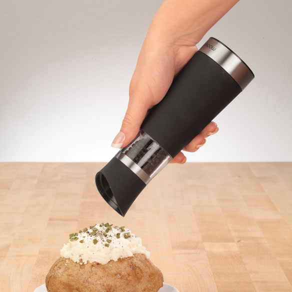 Electric Salt & Pepper Mill Set - View 2