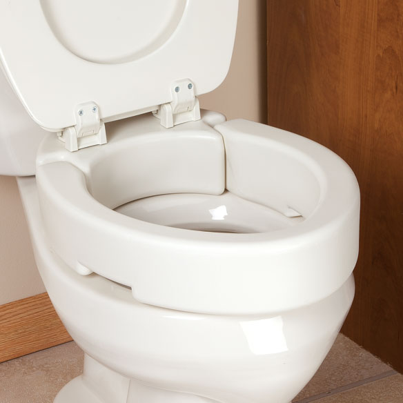 Elevated Toilet Seat Lowes Bath Safety Olsonite