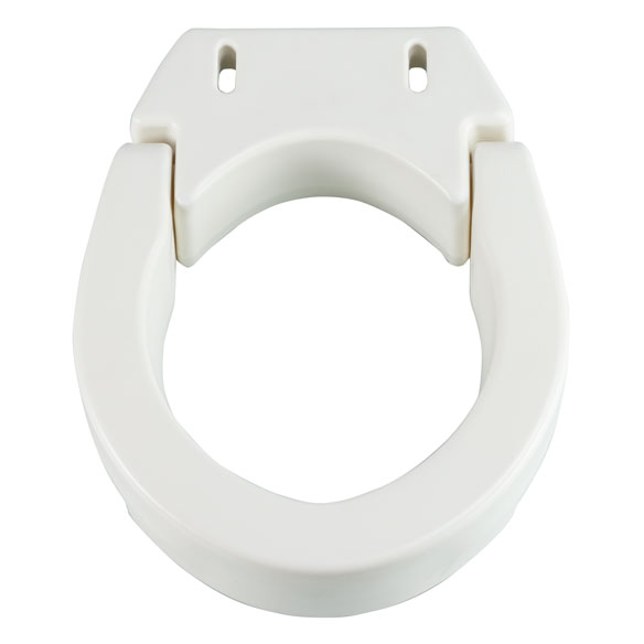Hinged Toilet Seat Riser - View 4