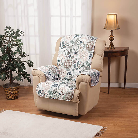 Palladio Print Microfiber Recliner Cover - View 2