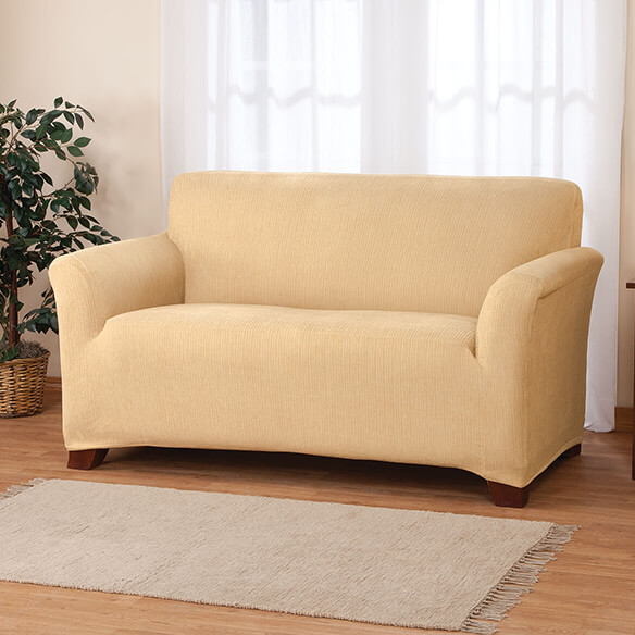 Stretch Heather Sofa Cover - View 3