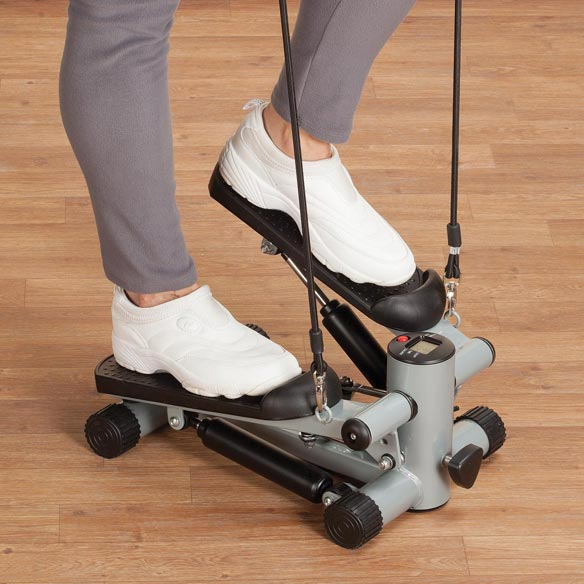 Seated Stepper with Resistance Bands - View 3