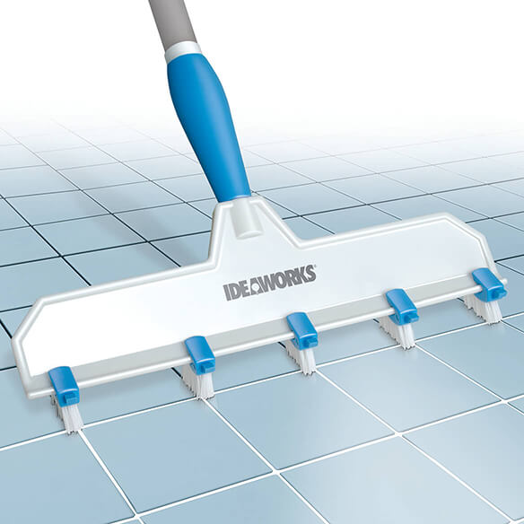 Adjustable Grout Cleaning Brush - View 2