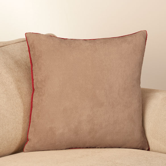 Reverse Plush to Suede Pillow Shell by OakRidge Comforts™ - View 2