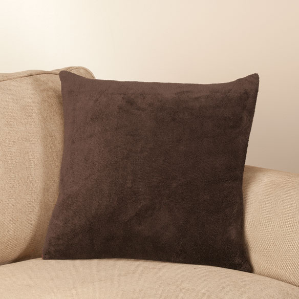 Reverse Plush to Suede Pillow Shell by OakRidge Comforts™ - View 3