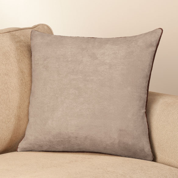Reverse Plush to Suede Pillow Shell by OakRidge Comforts™ - View 4