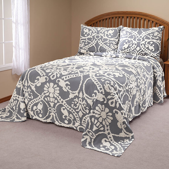 The Adele Chenille Bedspread by OakRidge - View 2