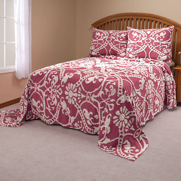 The Adele Chenille Bedspread by OakRidge - View 3