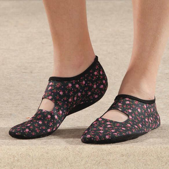 Silver Steps™ Mary Jane Non-Slip Slipper - View 2