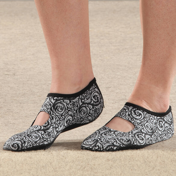 Silver Steps™ Mary Jane Non-Slip Slipper - View 4