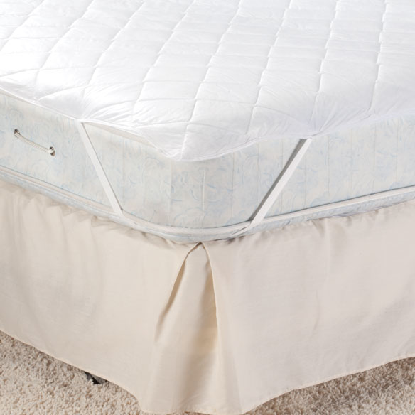 Hypoallergenic Ultra-Absorbent Waterproof Mattress Pad - View 2