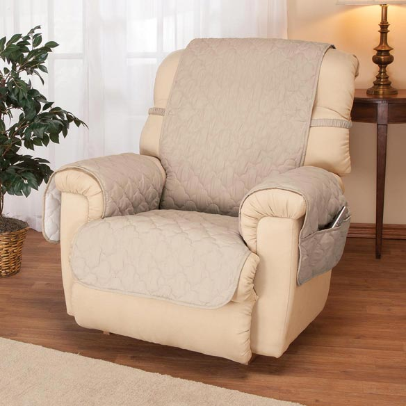Deluxe Microfiber Recliner Cover by OakRidge Comforts™ - View 2