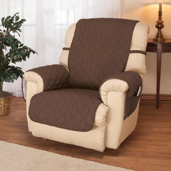 Deluxe Microfiber Recliner Cover by OakRidge Comforts™ - View 3