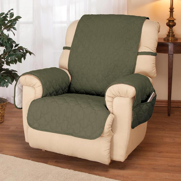 Deluxe Microfiber Recliner Cover by OakRidge Comforts™ - View 4