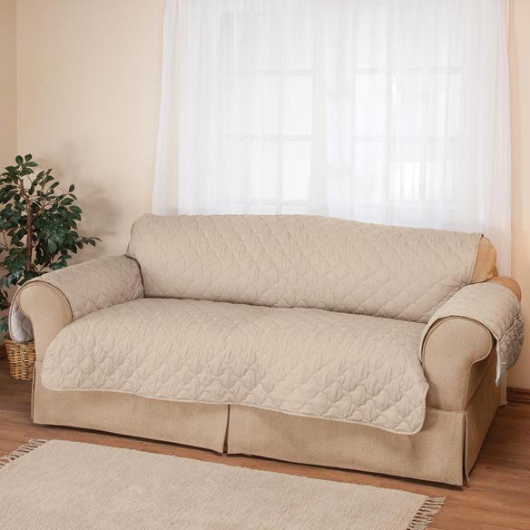 Deluxe Microfiber Sofa Cover by OakRidge™ - View 2