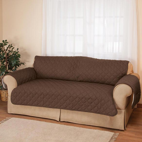 Deluxe Microfiber Sofa Cover by OakRidge™ - View 3