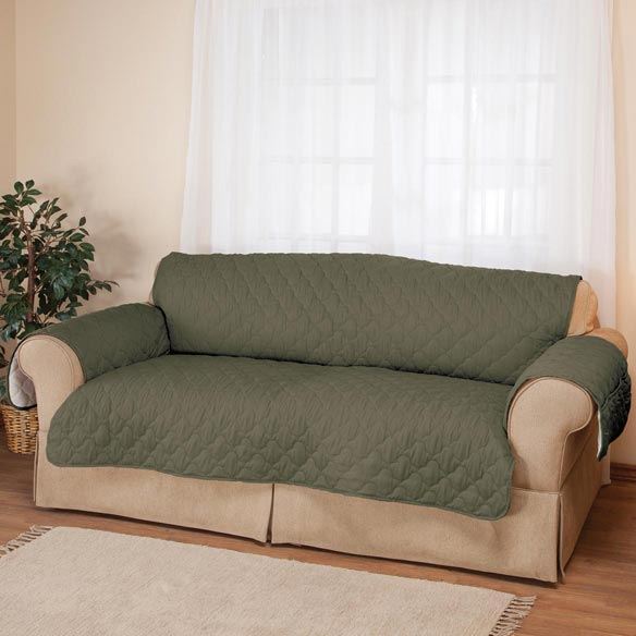 Deluxe Microfiber Sofa Cover by OakRidge™ - View 4