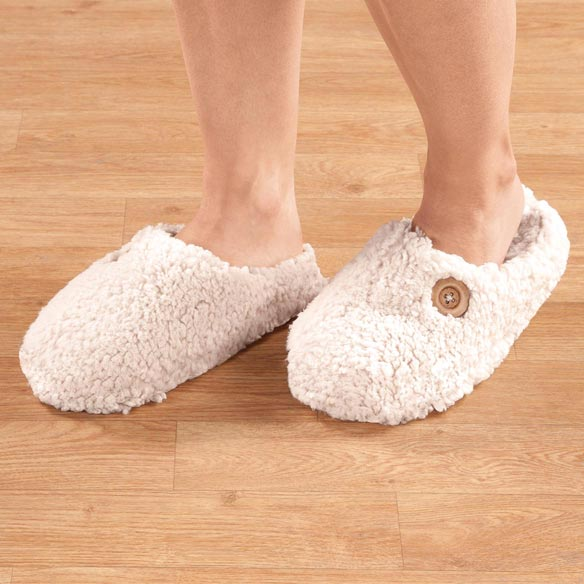 Comfy Sherpa Slippers - View 5