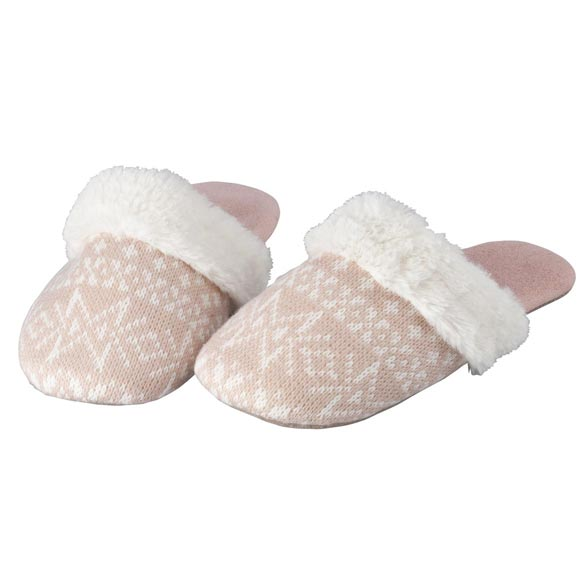 Nordic Style Slide-On Slippers - View 2