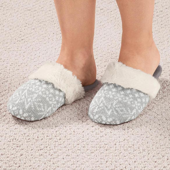 Nordic Style Slide-On Slippers - View 4
