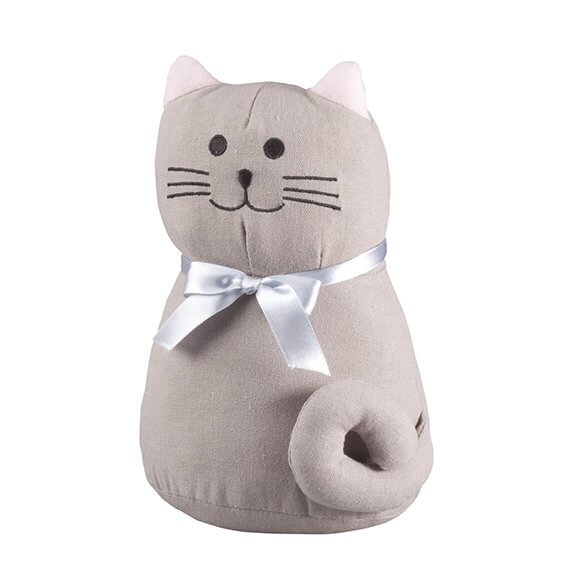 Plush Cat Doorstop by OakRidge™ - View 2