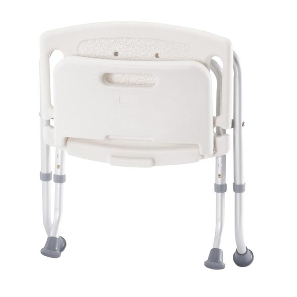 Folding Bath Seat with Back - View 4