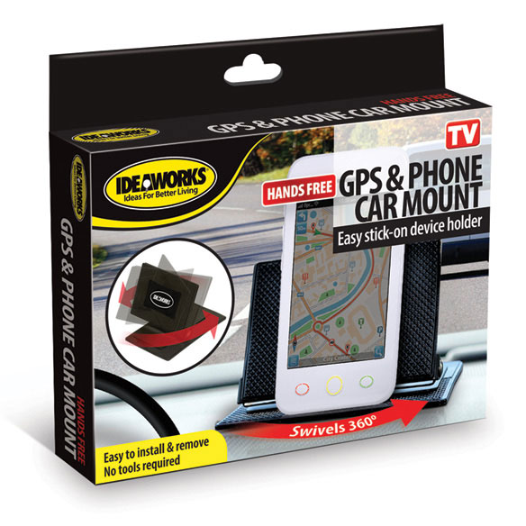 GPS and Phone Car Mount - View 2